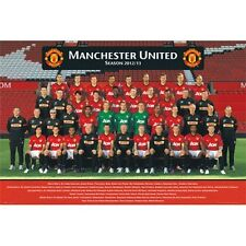 Manchester United 2012 - 2013 Team Poster new English Premier League MAN U EPL