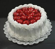 Faux Strawberry Shortcake, Cakes, Pies, Fake Food Display, Artificial, Gorgeous