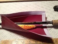 #1m-6.5x8.5=3x8 usable size MAROON FISHING TACKLE & Bait COVER & POLE WRAP