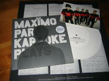 "MAXIMO PARK Karaoke Plays Lt.Edition White-7""-Vinyl P2 (OASIS, BLUR)"
