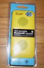 Iluv slim bluetooth speaker