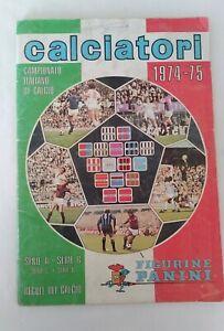 ALBUM CALCIATORI PANINI 1974-75