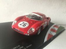 #292 Ferrari 250 LM #26 24h Daytona 1966 Ickx/Dernier - IXO 1:43