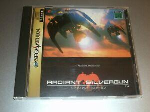Radiant Silvergun, Complete Excellent Condition (Sega Saturn, 1998) Treasure