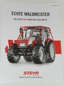 STEYR FORST SERIE, TERRUS, CVT Traktoren Prospekt von 09/2019 ( Auktion 81 )