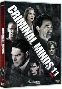 CRIMINAL MINDS - SERIE 11 - ITA - ENG - 5 DVD