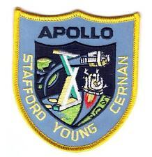 Patch Écusson NASA APOLLO X Thermocollant Apollo 10 taille : 8.5 cm