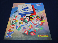 Panini WM WC WK 1998 France 98,Leeralbum/empty album,Spanish Danone version MINT
