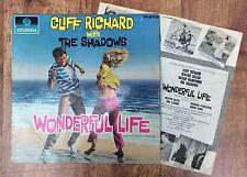 Cliff Richard And The Shadows Wonderful Life UK LP