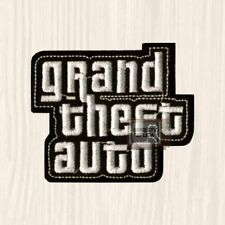 GTA Logo Embroidered Patch Grand Theft Auto PC PS Xbox Videogame City London