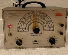 Eico Model 377 Audio Generator Sine and Square Wave Working