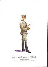 STAMPA UNIFORMI STORICHE - CARABINIERE UFFICIALE - (GRANDE GUERRA) - 1915 DEGAI