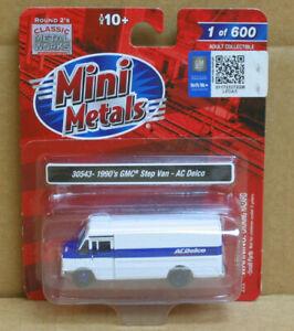 MINI METALS 30543 HO 1960's GMC Step Van - AC Delco