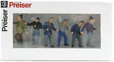 Construction Worker Figurine Set-1:50 SCALE by Preiser  68211