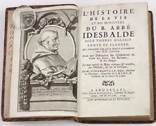 Life of Saint Idesbalde Patron Saint Of Sailors  L'Histoire Idesbalde 1724