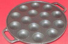 Poffertjes-Pfanne aus Gußeisen