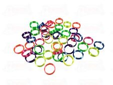 48 Plastic Coil Rings Wholesale Vending Party Favors