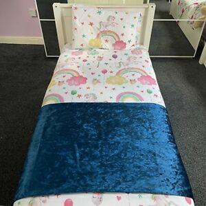 Premium Crushed Velvet Bed Runner Throw Handmade Bedding Cover Sofa Home Decor