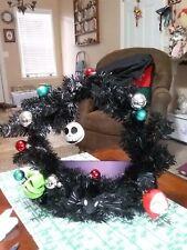 Disney Tim Burton'S 25Th Year'S Decorated Wreath