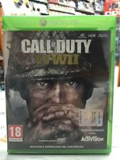 Call Of Duty World War II Ita Xbox One NUOVO SIGILLATO