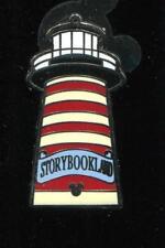 DLR 2012 Hidden Mickey Fantasyland Icons Storybookland Lighthouse Disney Pin