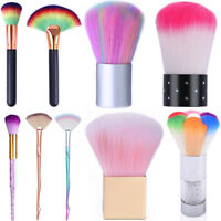 Soft Nail Brush Dust Remover Powder Cleaning  Nail Art Tools Acrylic