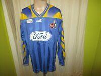 "1.FC Köln Original Puma Langarm Auswärts Trikot 1996/97 ""Ford"" Gr.L TOP"