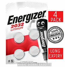 4 x Energizer CR2032 3V Lithium Coin Cell Battery 2032, DL2032, BR2032, SB-T15
