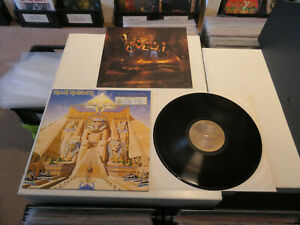 """IRON MAIDEN: Powerslave, EMI, 1C 064 24 0200 1, EEC PRESS, 12""""/ LP, TOP METAL!!"""