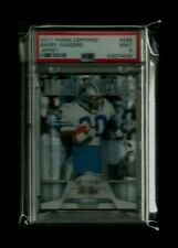 Barry Sanders 2011 Certified IMMORTALS Jersey Refractor #/99! PSA 9 MINT! Pop. 1