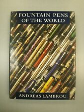 Fountain Pens Of The World Limited Edition Book by Andreas Lambrou 1995