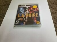 L.A. Noire (Sony PlayStation 3, 2011) new ps3