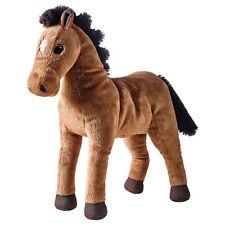 IKEA ÖKENLÖPARE (Okenlopare) Soft Toy Brown Horse (38cm)