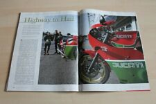 Motorrad Classic 1668) Ducati 900 Mike Hailwood Replica in einer seltenen Vors