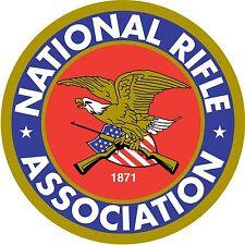 NRA Nation Rifle Association 2nd Amendment firearms freedom sticker decal