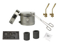 Deluxe Mini Kwik Kiln Propane Furnace Combo Mold Torch Tips Melting Gold Silver