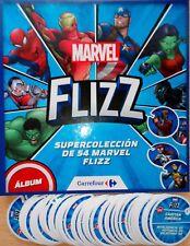 Tazos Flizz Marvel 2018 Carrefour Pide faltas Completa Colección