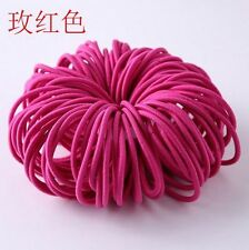 Girls' Accessories Elsa Hair Bands With Heart Print Hair Elastics Pony Bands Thick Bobbles Hair Accessories