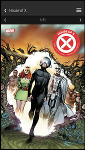 House Of X #1 Marvel NFT Low Mint #7211 X-Men Veve Digital Comic Collectible