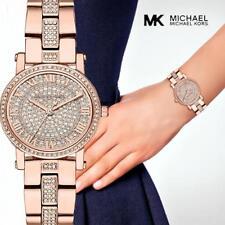 Original Michael Kors Uhr Damenuhr MK3776 PETITE Frabe:Rose Gold /Kristall NEU!
