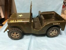 TONKA TOY JEEP--CIRCA 1970'S--------------------------------------------------sh