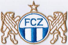FC Fussballclub Zurich Swiss Switzerland Football Soccer Badge Iron On Patch