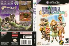 Final Fantasy Crystal Chronicles Game Cube Box Art Case Insert Cover Scan Only