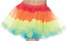 Morris Costumes Women's Petticoat Tutu Adult Rainbow Skirt One Size. UR28282