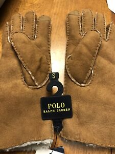 Polo Ralph Lauren gloves size small Retail $225