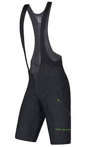 GORE BIKE WEAR Men's Power Trail 2-in-1+ Shorts, Black, Size Large