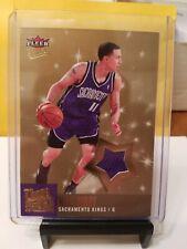 Mike Bibby 2007-08 Fleer Ultra #25 Ultra Stars JSY Relic Sacramento Kings