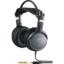 JVC HA-RX700 High Quality Full-Size Precision Sound Headphones - BLACK HARX700