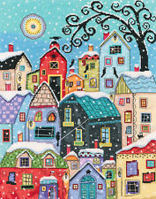 Counted Cross Stitch Kit RTO - Snow falling