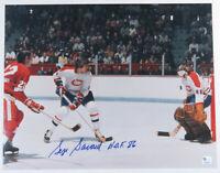 Serge Savard Montreal Canadiens NHL Hockey Autographed Signed 11x14 Color Photo